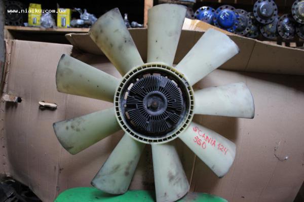Авторазборка ПП Няйку(Черновцы) - niaiku.com.ua-Запчасти-Система охлаждения-Вентиляторы и вискомуфты - Вискомуфта с вентилятором